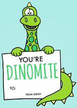 Dinomite by Morgan Newnham