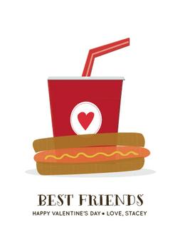 Hotdog and Soda