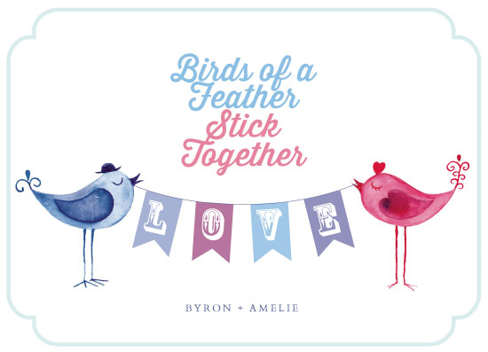 valentine's day - Birds of a Feather by Sally-Ann Langley