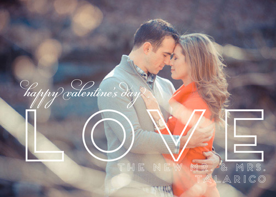 valentine's day - Newlywed Love Card by Barbara Caruso