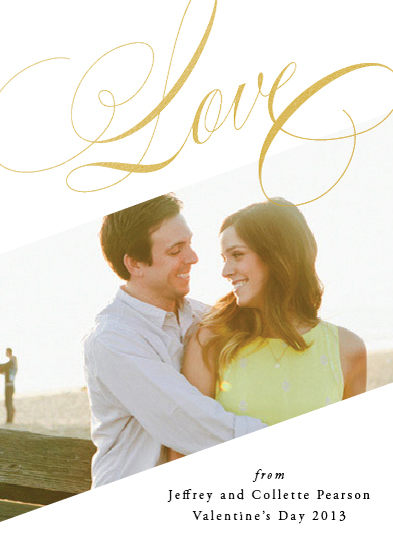 valentine's day - Lovely Script by Kimberly FitzSimons