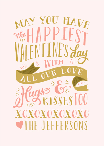 valentine's day - Kisses and Hugs by Sarah Brown