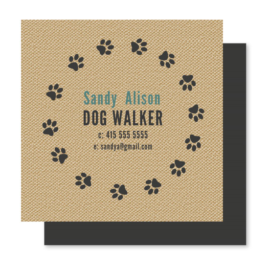 business cards - Dog Walker by Pip Gerard