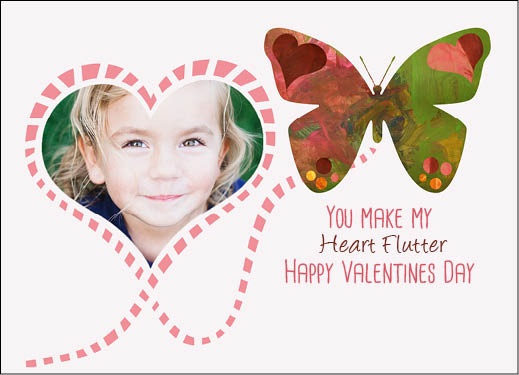 valentine's day - Fluttering Heart by Erin East