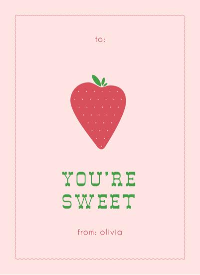 valentine's day - Sweet Strawberry by Elysse Ricci