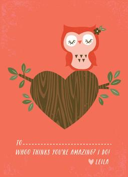 Little Woodland Owl