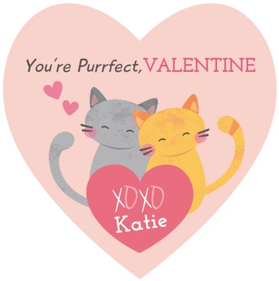 valentine's day - purrfect kitties by peetie design