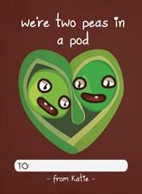 two peas by Robin Edano