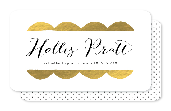 business cards - Fancy Pants by Erin Wallace