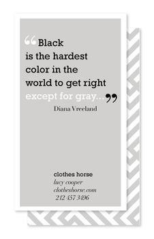 The Color Gray Quote Series 1