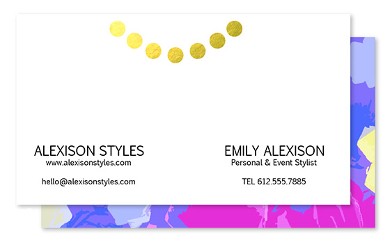 business cards - Professionl in Pearls and Peonies by Mkenzio