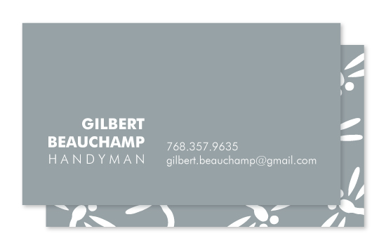 business cards - Dragonflies by Kampai Designs