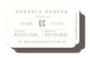 business cards - Trend by Lori Wemple