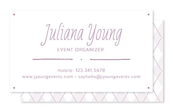 business cards - Polkargyle by katrina gem