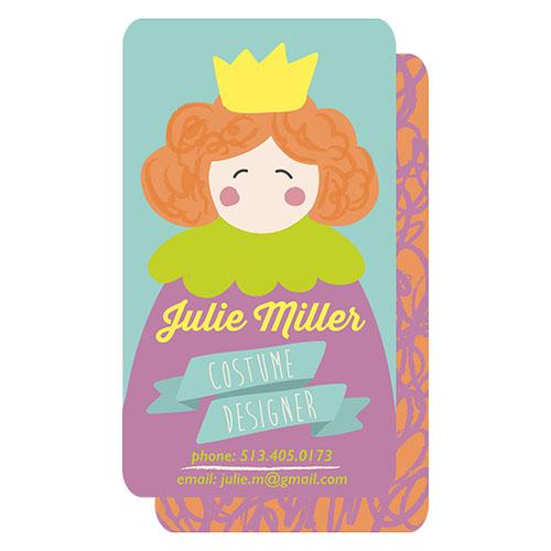business cards - costume designer by Barbara Treszner