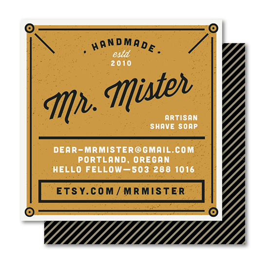 business cards - Makermen by Melanie Pavao
