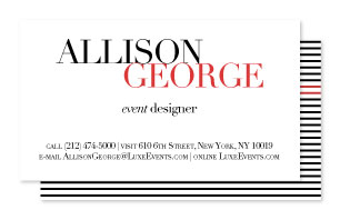 business cards - Perfectly Poised by Alicia Heater