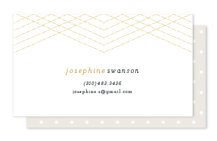 business cards - galette by chocomocacino