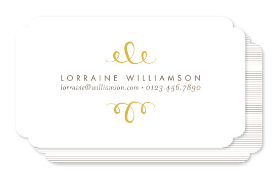 business cards - The most Simple by Phrosne Ras