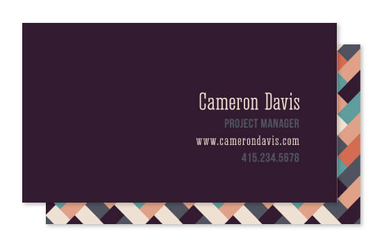 business cards - Woven by UnaBee