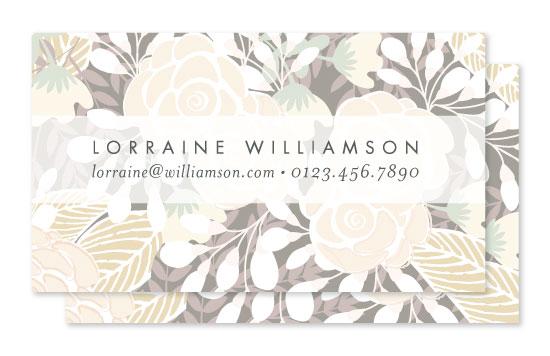 business cards - abundance by Phrosne Ras