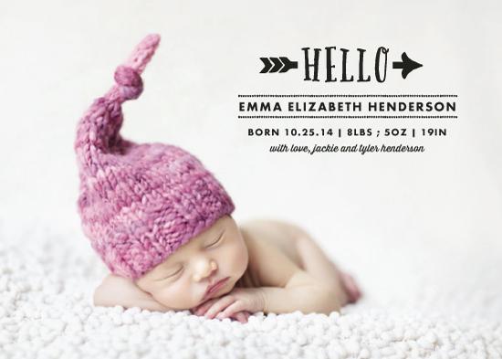 birth announcements - emma by Rebecca Bowen