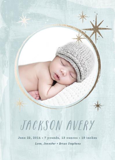 birth announcements - Starstruck by Rebecca Bowen
