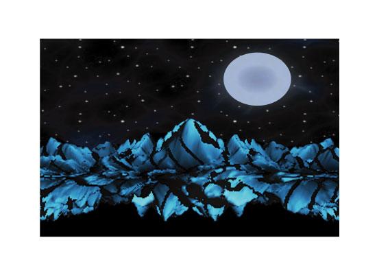 art prints - Midnight Reflection by Cindy Jost