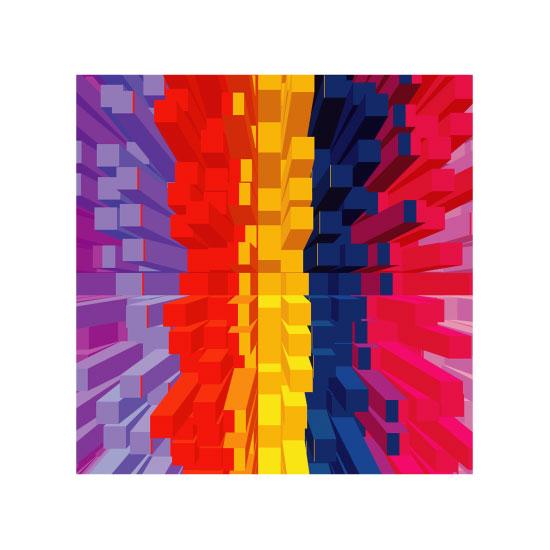 art prints - Building Blocks Series 1 by Cindy Jost
