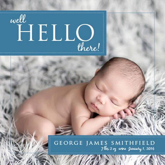 birth announcements - Hello there! by Heidi Lambeth