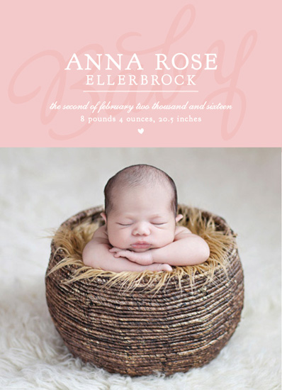 birth announcements - Classically Named by Keen Peachy