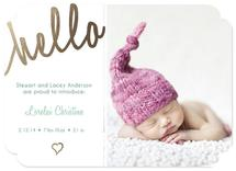 Golden Baby Hello by Jessica Pitts