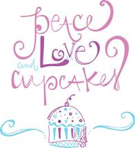 Peace Love + Cupcakes by Stephanie Krist