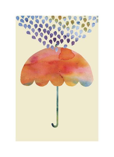 art prints - Rainbow Umbrella by Kanika Mathur