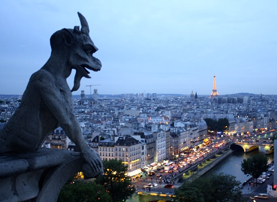 art prints - The Gargoyle's View by Shannon Casey