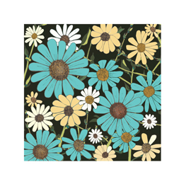 art prints - Blue & White Daisies by Michele Fritz
