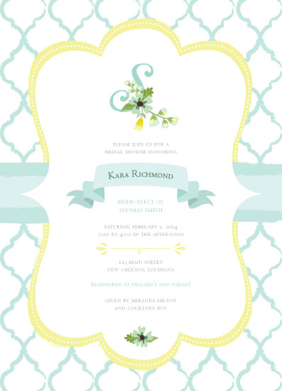 cards - Minty Initial Bride by Kim Swart