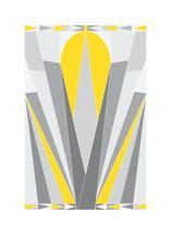 Art Deco Sunrise by Lesive Designs