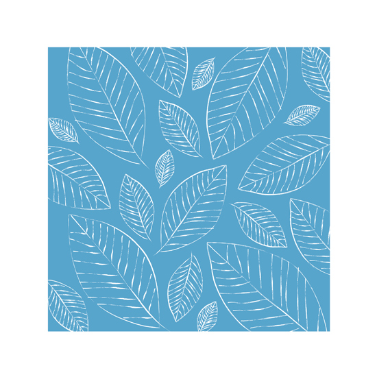 art prints - Blue Leaves by Marina Eyl