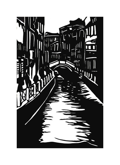 art prints - Holiday in Venice by Jade Tran