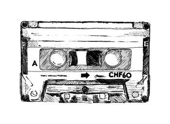 retro casette