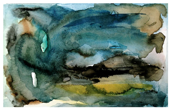 art prints - of land and sea | aquatic series no.3 by Kiana Mosley