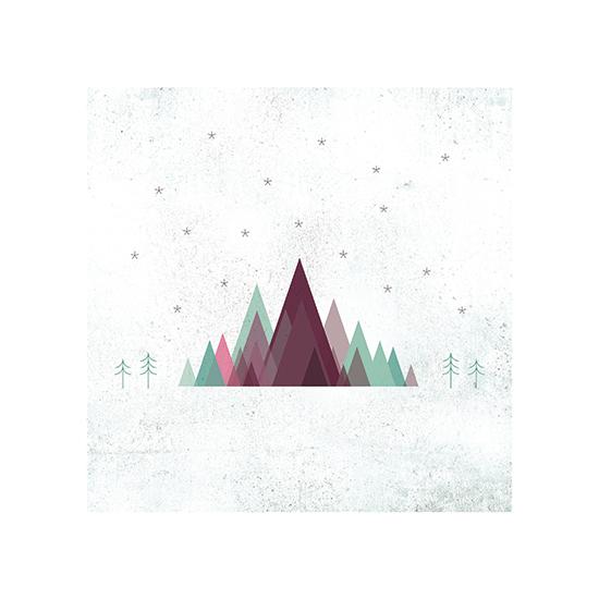 art prints - Between the Pines by Matt Raufman