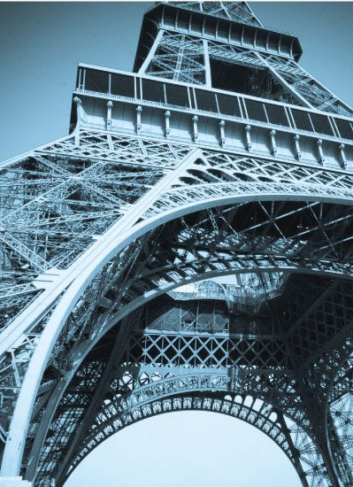 art prints - Eiffel Tower Detail by Stephanie Prabulos