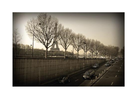 art prints - Paris drive by Stephanie Prabulos