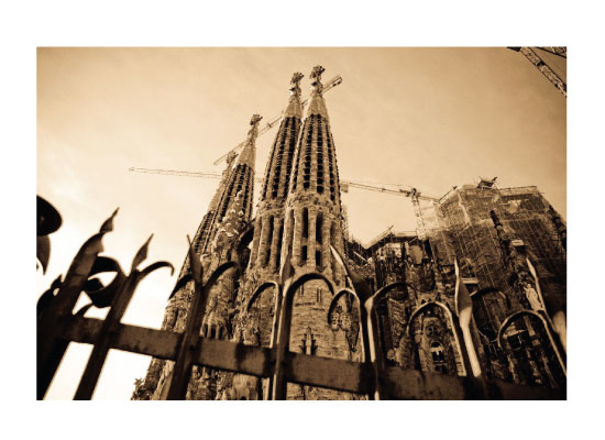art prints - Sagrada Familia 1 by Stephanie Prabulos