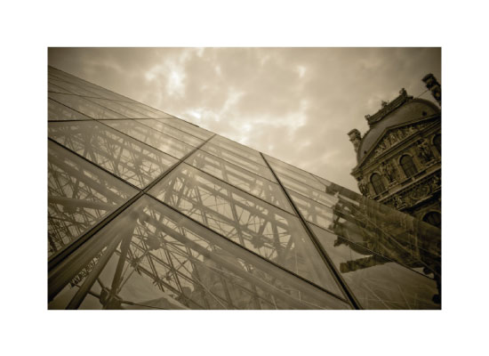 art prints - Louvre by Stephanie Prabulos