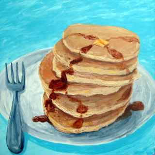 art prints - Pancakes by Sarah Maguire Duffy