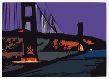 SF Bay Blues by Aurelia Fasano Brogan