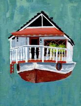Sausalito Houseboat by Frances Marin
